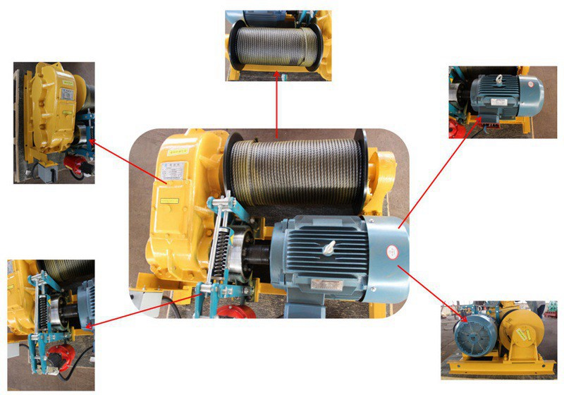 JK Type High Speed Electric Wire Rope Winch