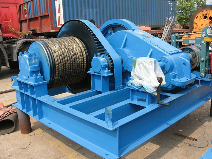 Slow Speed Electric Wire Rope Winch