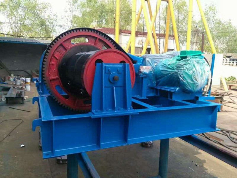Construction Electric Wire Rope Winch