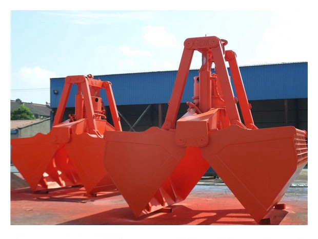 Multi Peel Hydraulic Grab Gantry Crane for Waste Disposal