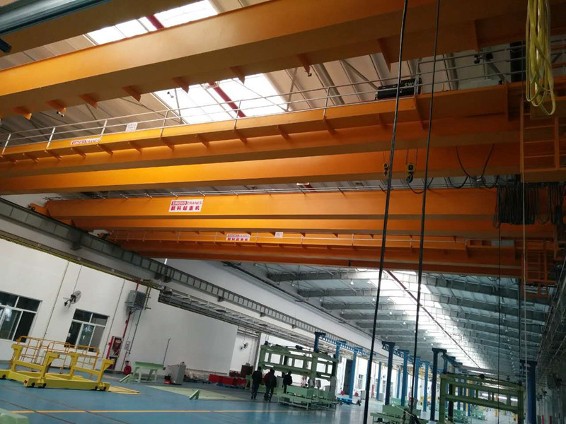 QD Steel Structure Use Double Girder Overhead Traveling Crane