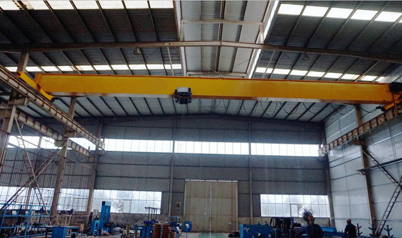 Variable Speed Single Girder Overhead Crane Equipped with European Hoist