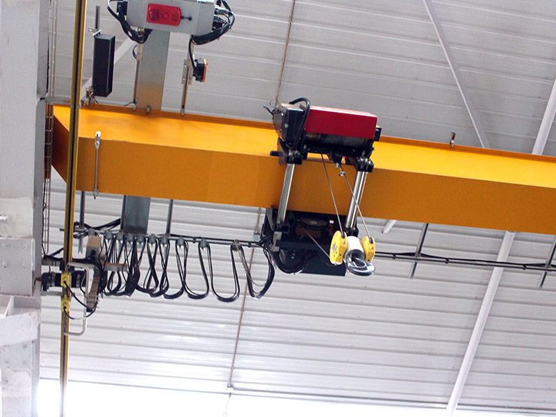 FEM Wire rope monorail hoist overhead cranes with stepless speed control