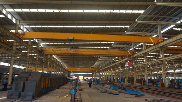 Remote Control 5 ton Single Beam Overhead Crane