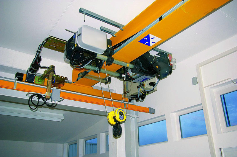 High Reliable Control Motor Driven Monorail Crane