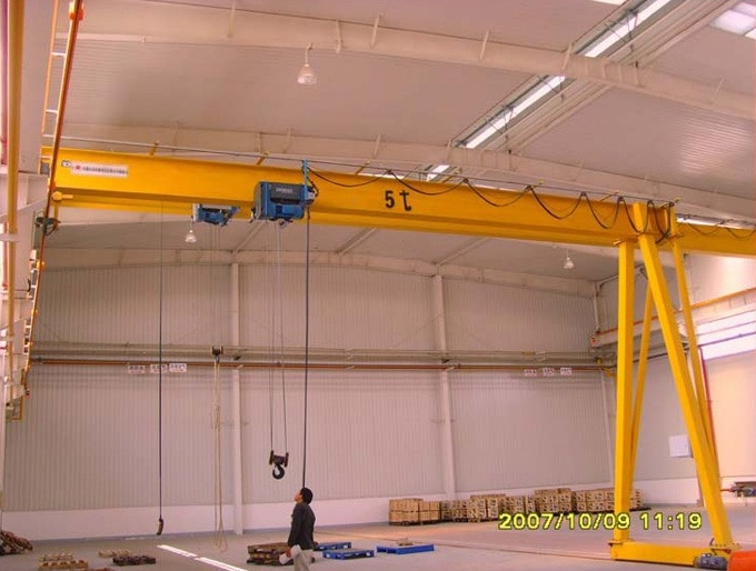 Workshop Lifting Equipment 5 ton Gantry Crane