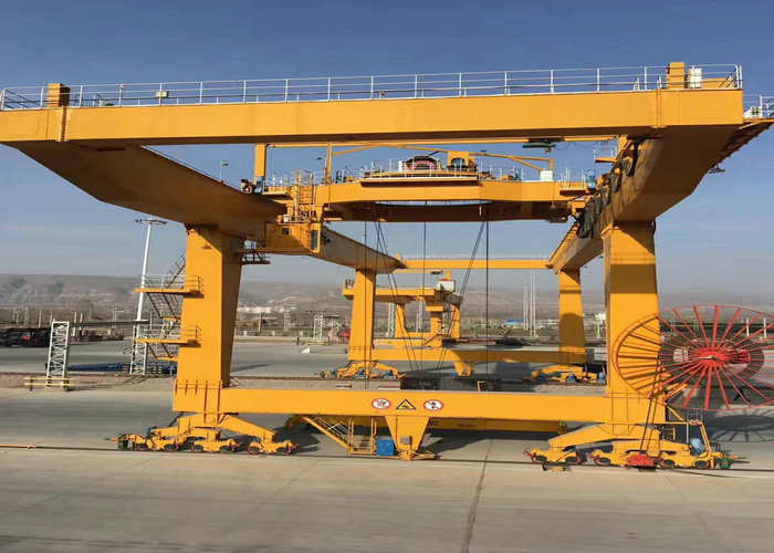 Wireless Control 45 ton Gantry Crane
