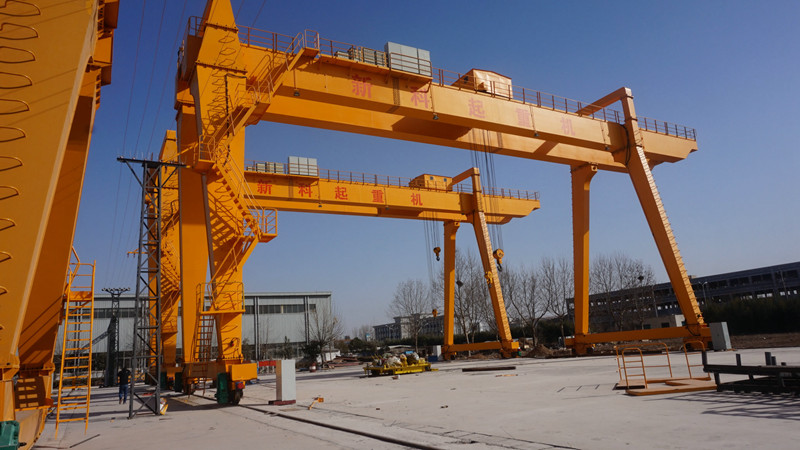 Intelligent Control Electric Gantry Crane