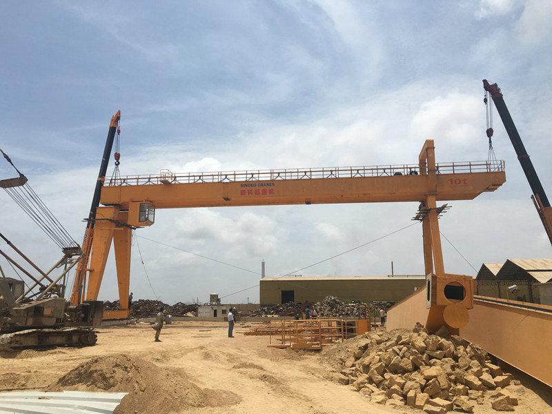 10T Outdoor Traveling Gantry Crane