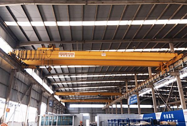 Electric Hoist Double Girder Overhead Crane Manufacturer China