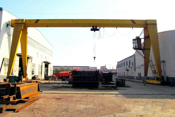 Light Type Single Girder Gantry Crane