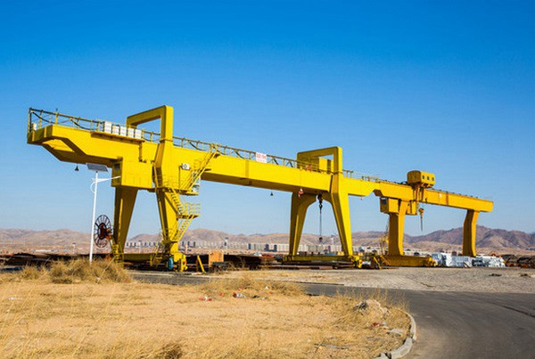 Heavy Type Double Girder Gantry Crane