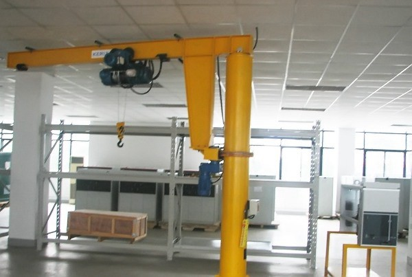 Floor Mounted Jib Crane
