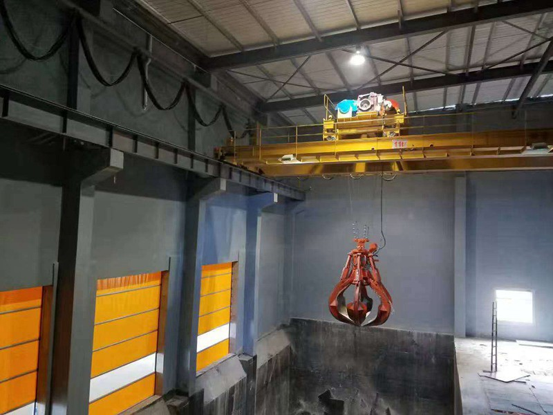 Automatic And Half Automatic Control Waste Handling Cranes For Garbage Power Station