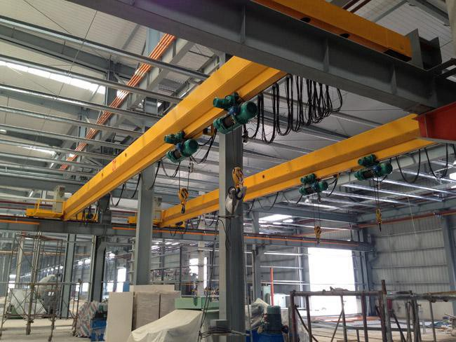 Steel Structure Wokshop Roof Traveling Crane