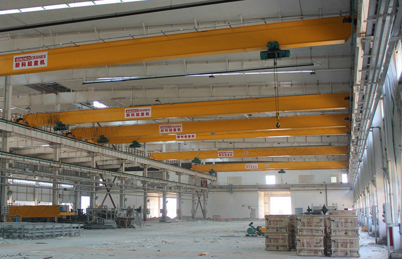 Workshop Used Bridge Crane Single Girder Overhead Crane with Electric Hoist