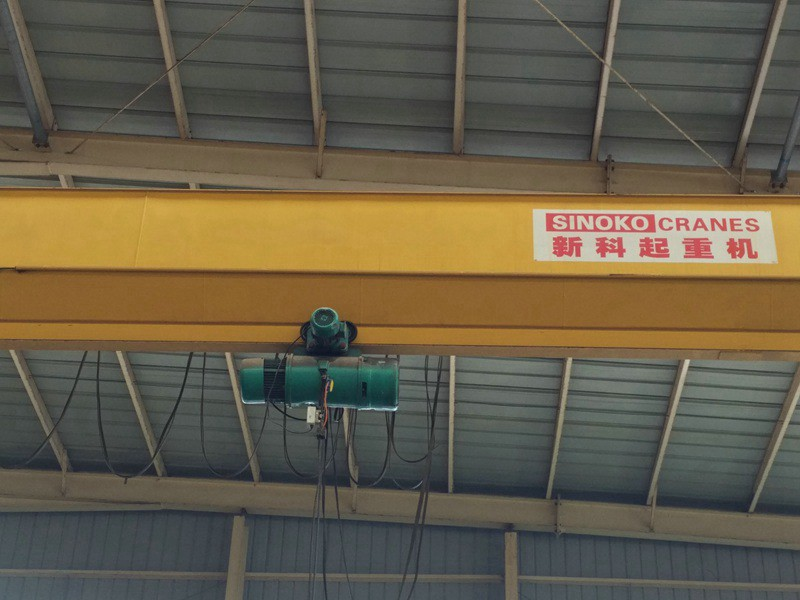Steel Mill Used High Quality Single Girder Overhead Crane with Electric Hoist