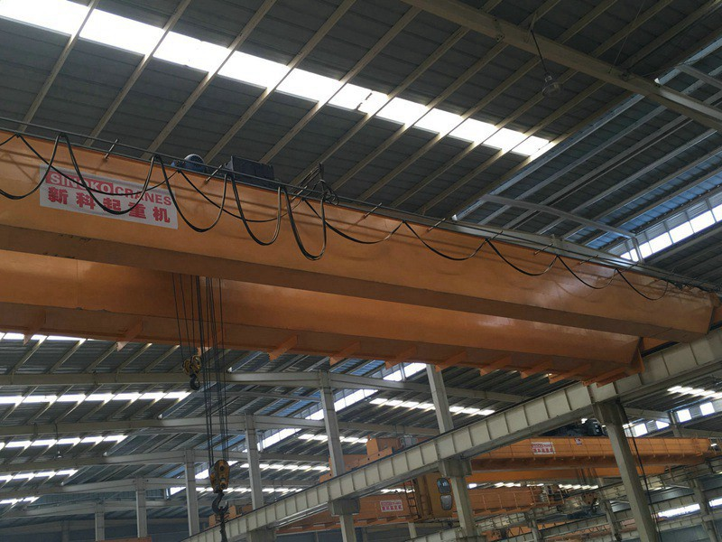 LH type light duty material lifting gantry crane with electric hoist