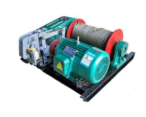 Fast Speed Electric Wre Rope Winch