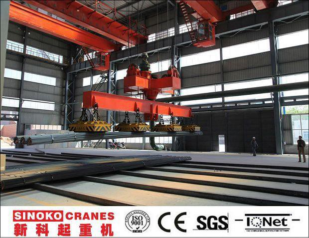 Steel Mill Plant Slab and Billet Lifting Electromagnet EOT Crane