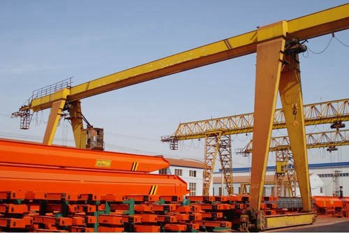 Factory Manufacture Mobile Single Girder Gantry Crane