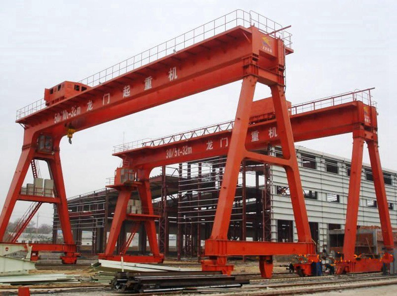 A Shape Double Girder Gantry Crane Manufacturer