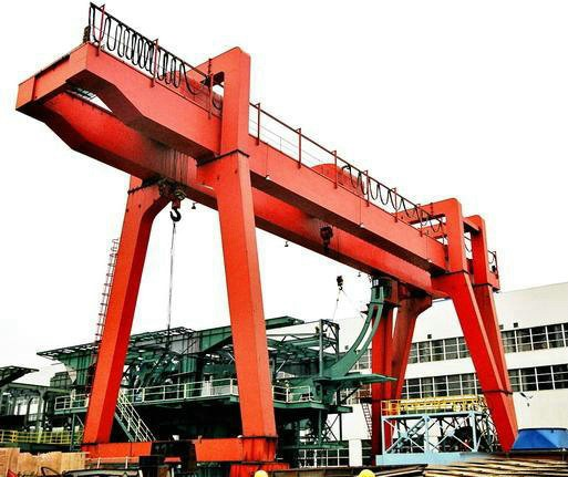 Heavy Duty Electric Double Beam Gantry Crane