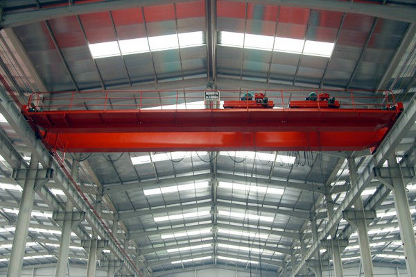 Light Type Double Girder China EOT Crane with Electric Hoist Trolley