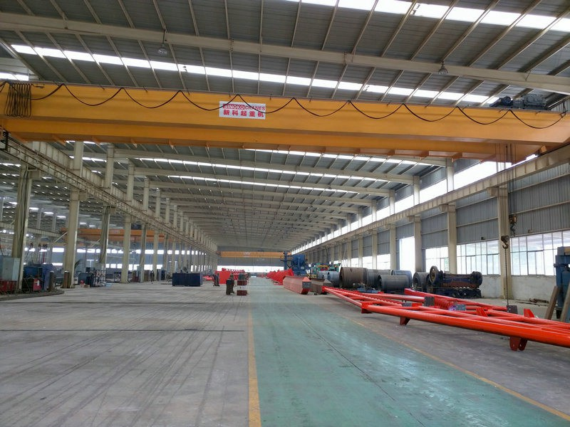Workshop European Double Girder Overhead Traveling Crane