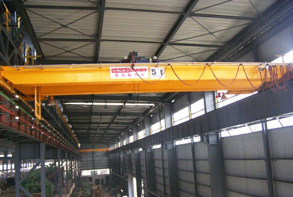 Electric Open Winch Double Beam Crane