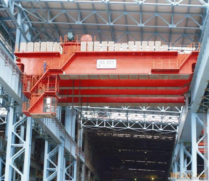 Steel Factory EOT Crane for Ladle Charging