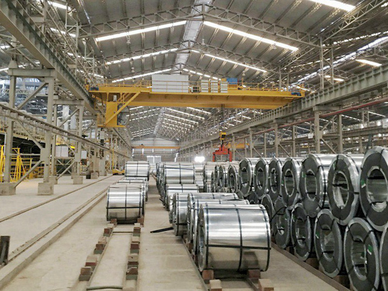 Steel Factory Bridge Crane for Coil Lifting Workshop