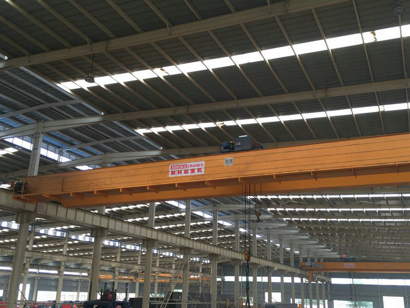 European Type Material Lifting Double Girder Crane