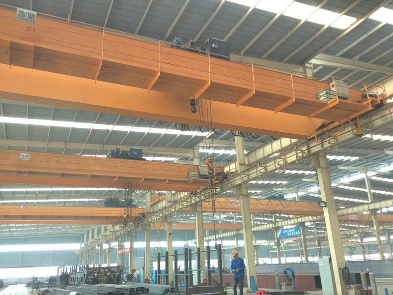 New Design Double Girder Bridge Crane