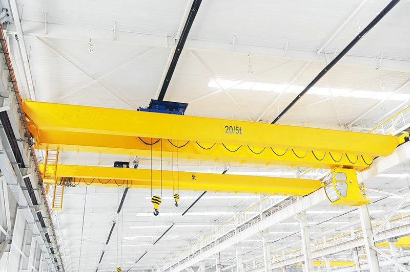 Double Girder Wire Rope Hoist Overhead Crane