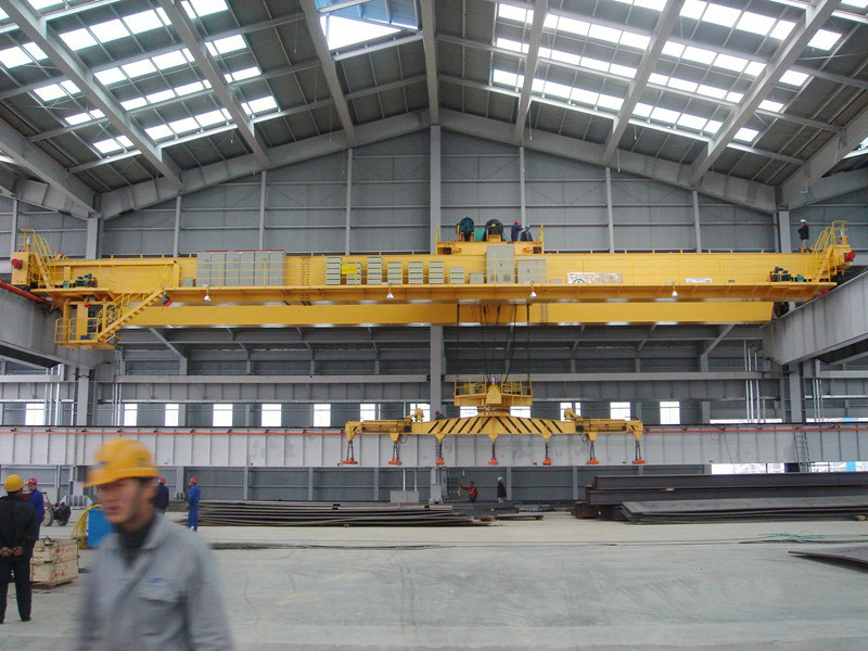 QX magnets EOT crane with rotate motor carrier beam