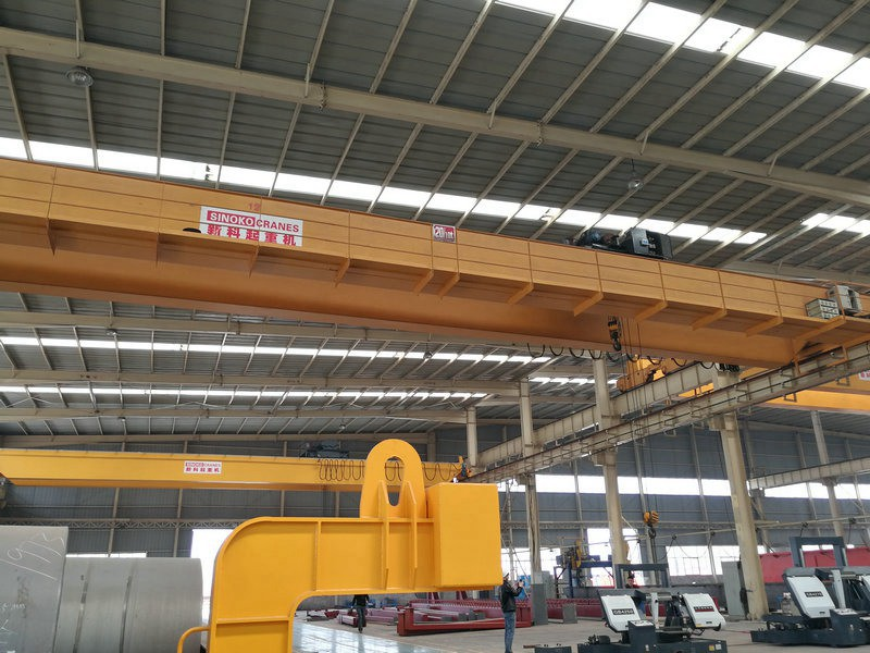 New Design Double Girder EOT Crane