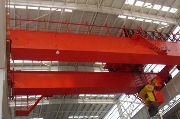 Steel Mill Used Casting Double Girder Overhead Crane for Molten Steel Lifting