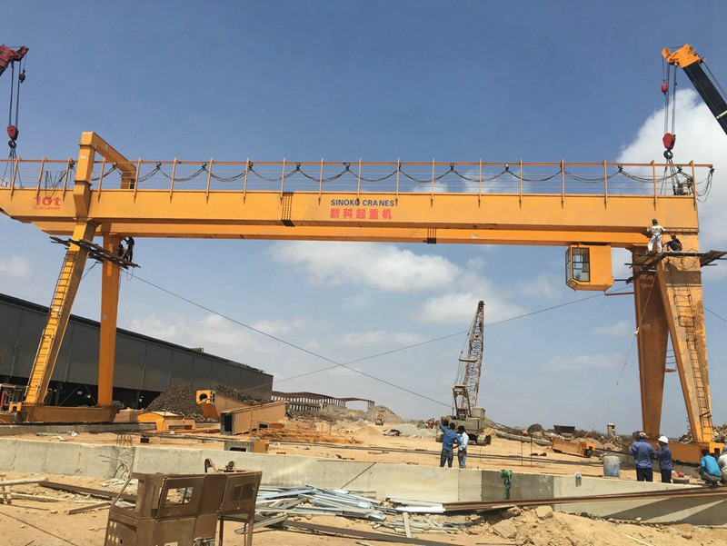 Different Lifting Capacity Marble Loading Gantry Crane