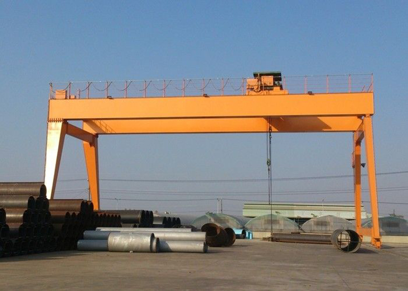 CE Certificate Construction Site Stocks Lifting Gantry Crane