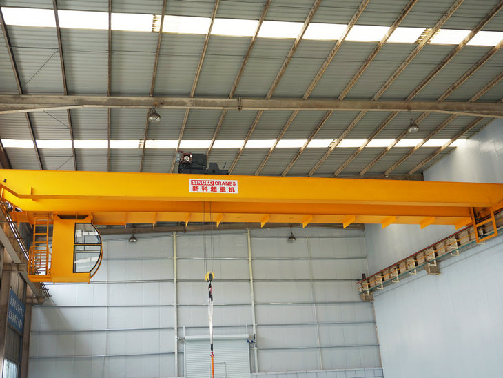 Workshop Lifting Equipment Double Girder  Overhead Crane