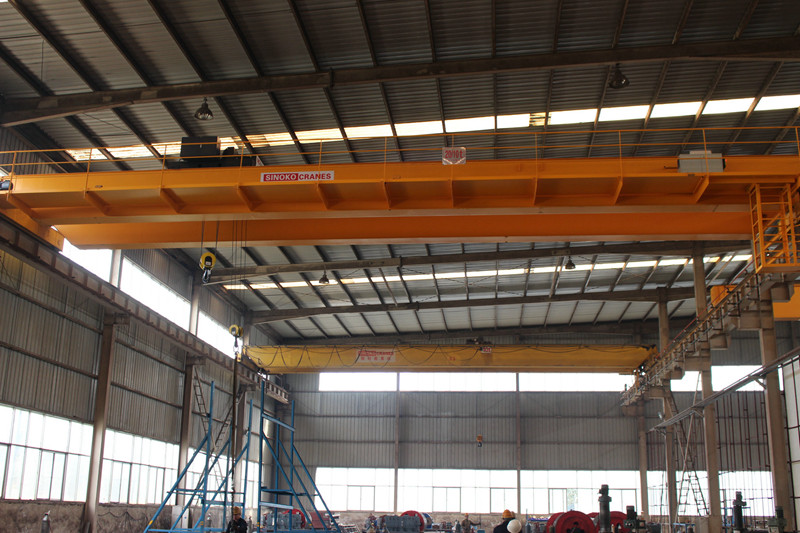 European design 15 ton double beam overhead crane