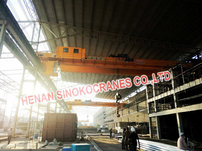 PLC Control Coil Handling Overhead Cranes with Smart Function