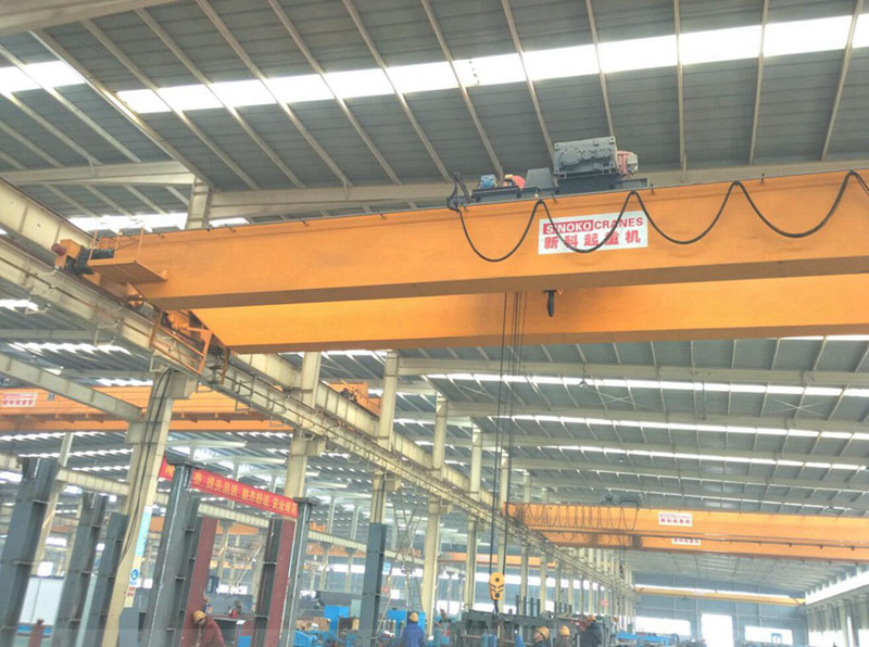 Long Using Life European Type Heavy Duty Double Girder Overhead Crane