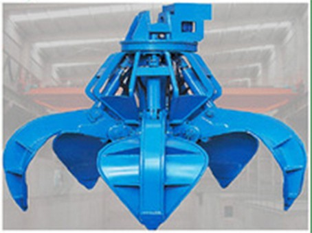 Steel Scrap Handling Electric Hydraulic Grab Bucket