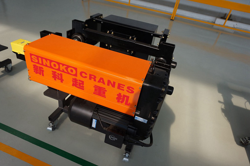 Sinokocrane Brand Remote Control Single Girder Hoist