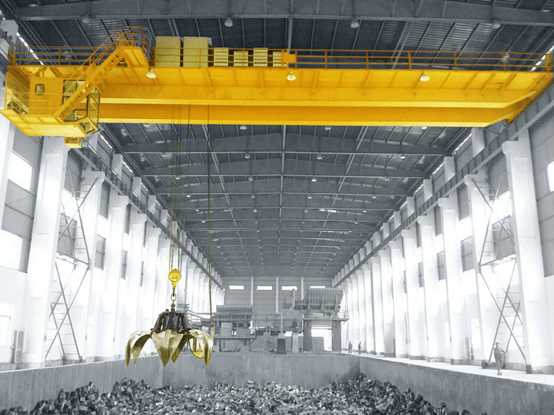 Motor Hydraulic Grab Crane for Scrap Steel