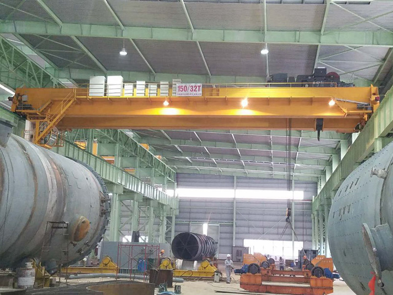 Pipe Pile Workshop Overhead Crane Pipe Pile Lifting Crane