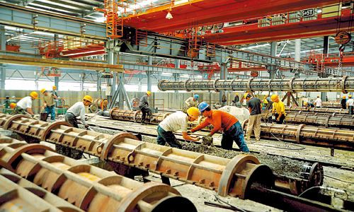 Pipe Pile Workshop Overhead Crane