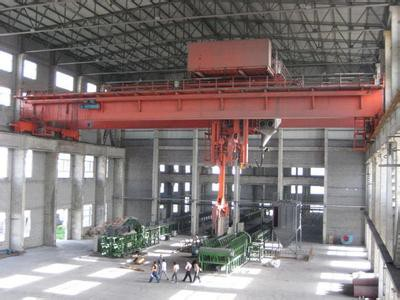 Forklift Type Overhead Traveling Stacking Crane